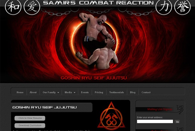 Samirs Combat Reaction Home Page
