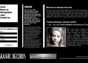 Akashic Records Website Design