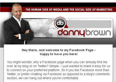Danny Brown Facebook Design
