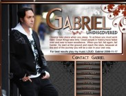 Gabriel Myspace Design