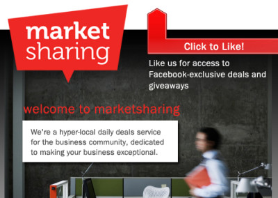 MarketSharing Facebook Page Design