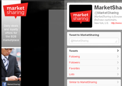 MarketSharing Twitter Background
