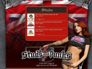 Studs n Punks Myspace Design