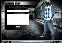 Rodrick B. Washington Myspace Design