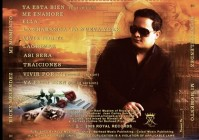 Ricky Melendez CD Cover Design
