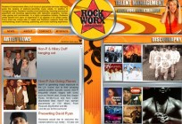 Rockworx Entertainment Website Design